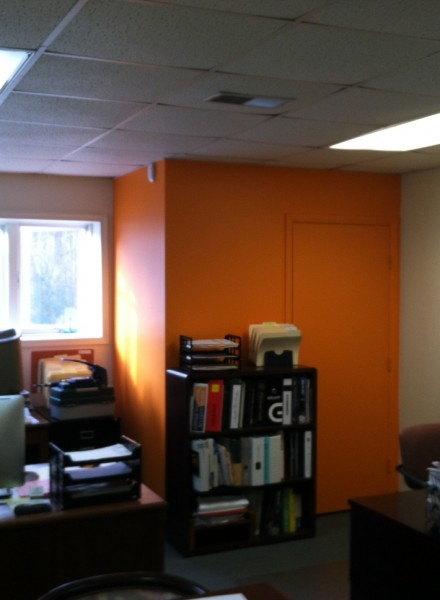 Orange Wall